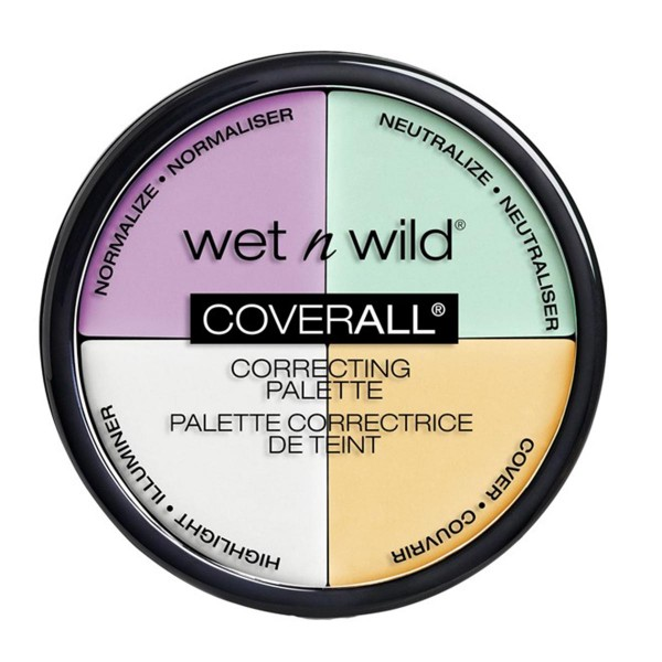 Wet'n wild coverall correcting palette color commentary